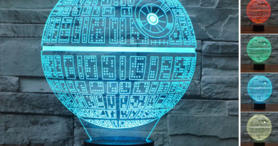 Star Wars Death Star Led lampe