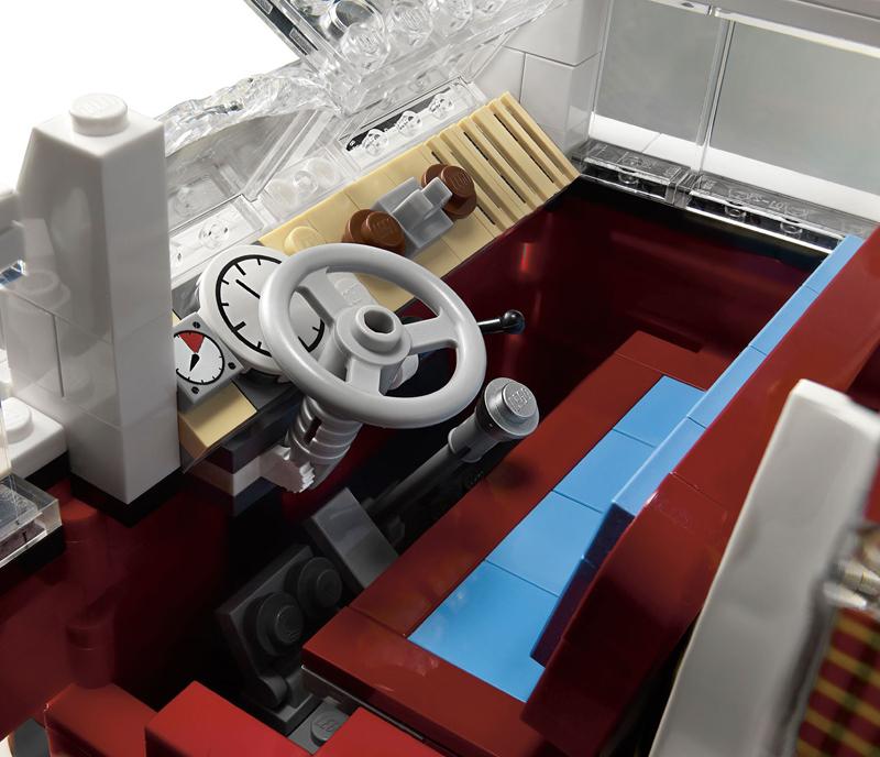 Lego VW T1 Camper Van Interiør