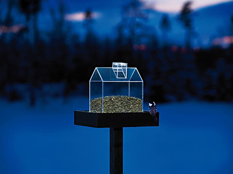 Twilight Fuglemater med LED-lys