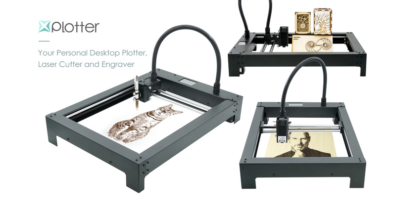 XPlotter - Desktop Plotter, Laser Cutter and Engraver