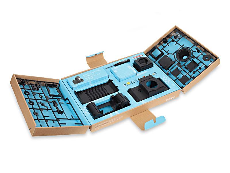 Lomography Konstruktor analogt diy kamera. Bygg ditt eget kamera.