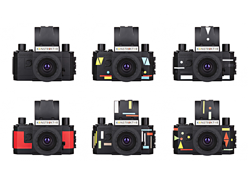 Lomography Konstruktor analogt diy kamera