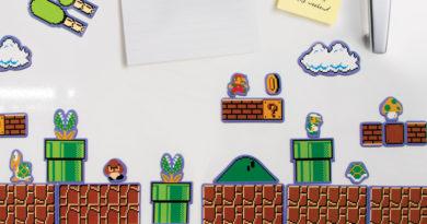 Nintendo Super Mario Kjøleskapsmagneter