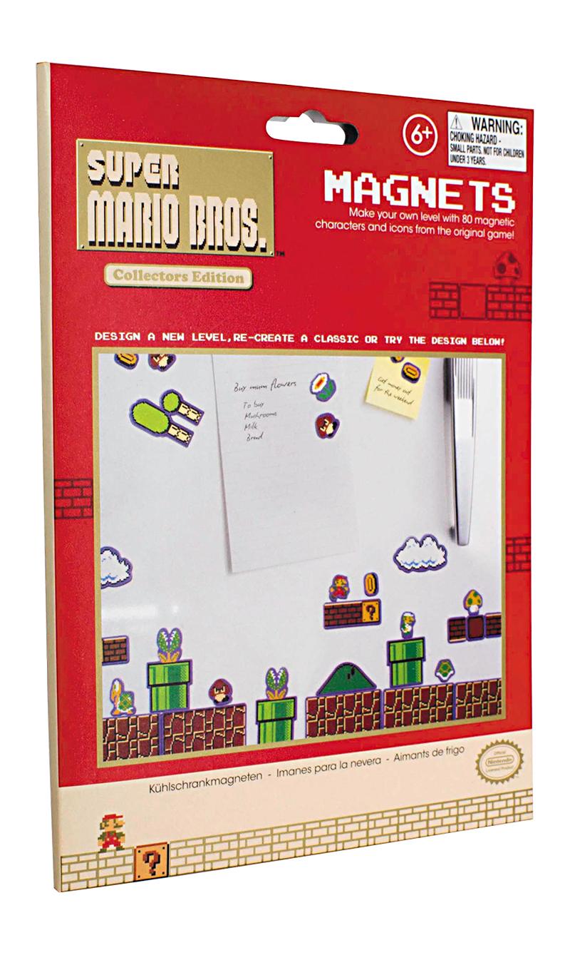 Super Mario Kjøleskapsmagneter