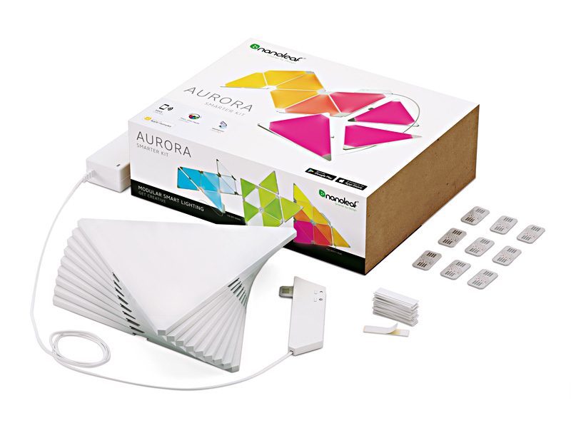 Nanoleaf Aurora smart LED-belysning