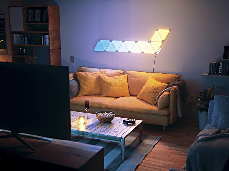 Nanoleaf Aurora smart LED-belysning