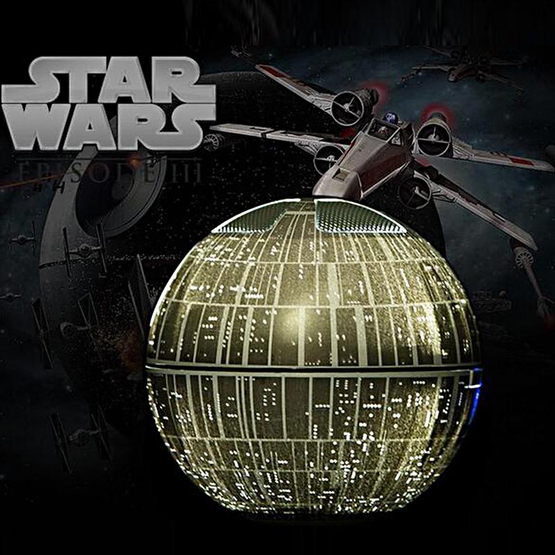 Star Wars Death Star svevende bluetooth høyttaler