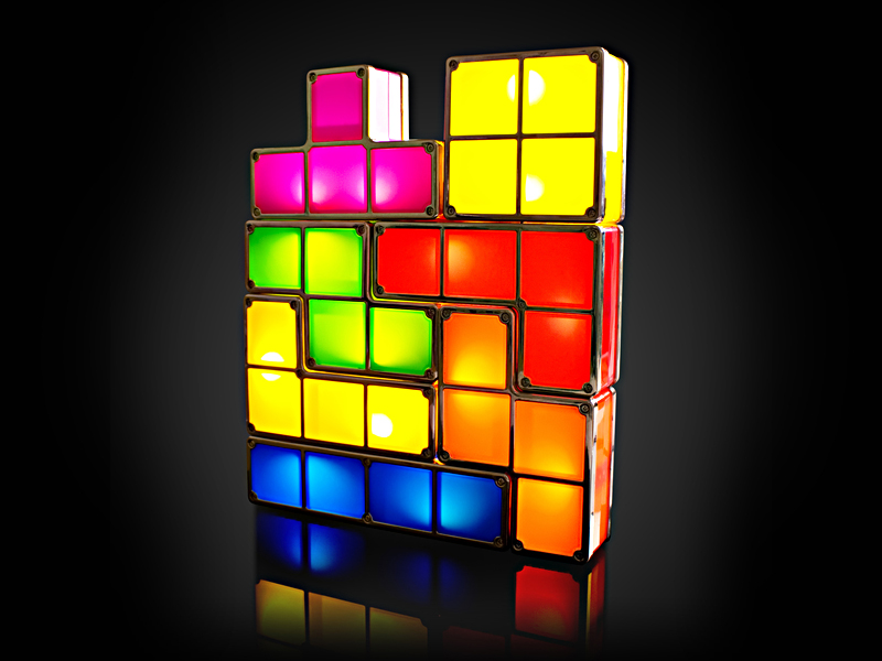 Tetris Bordlampe