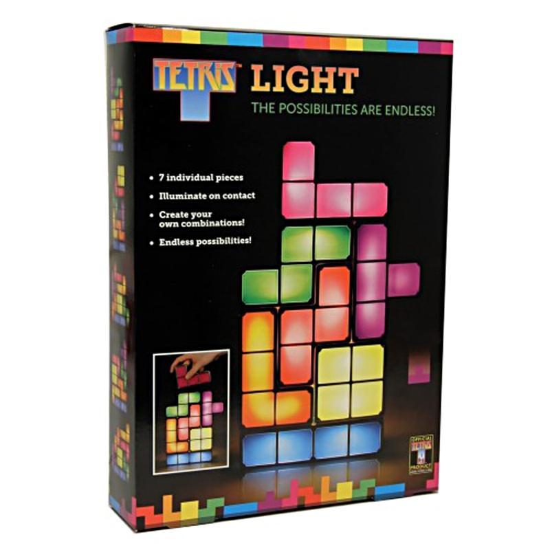 Tetris LED Bordlampe