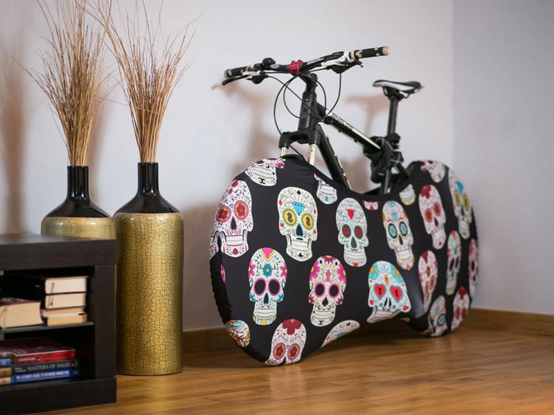 Velosock Sykkeltrekk. Bycycle cover for your apartment