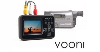 Vooni Video Grabber digitaliserer dine gamle analoge videobånd raskest og tryggest
