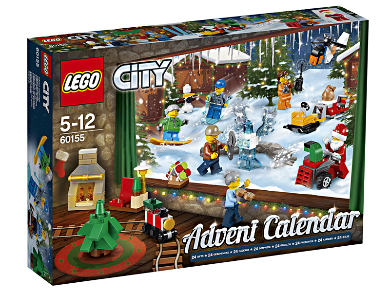 Adventskalender 2017 Lego City 60155