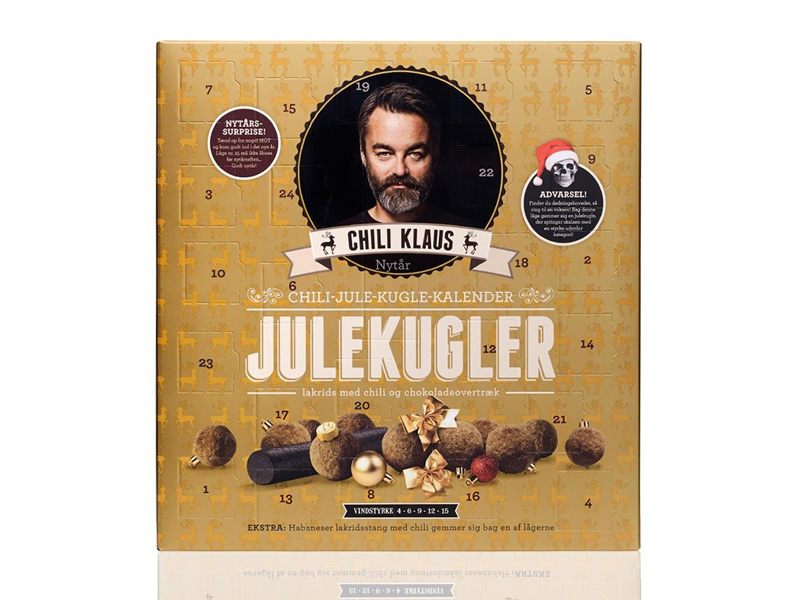 Chili Klaus Adventskalender 2017