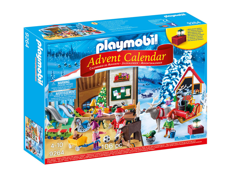 Playmobil Adventskalender Nisseverksted 9264