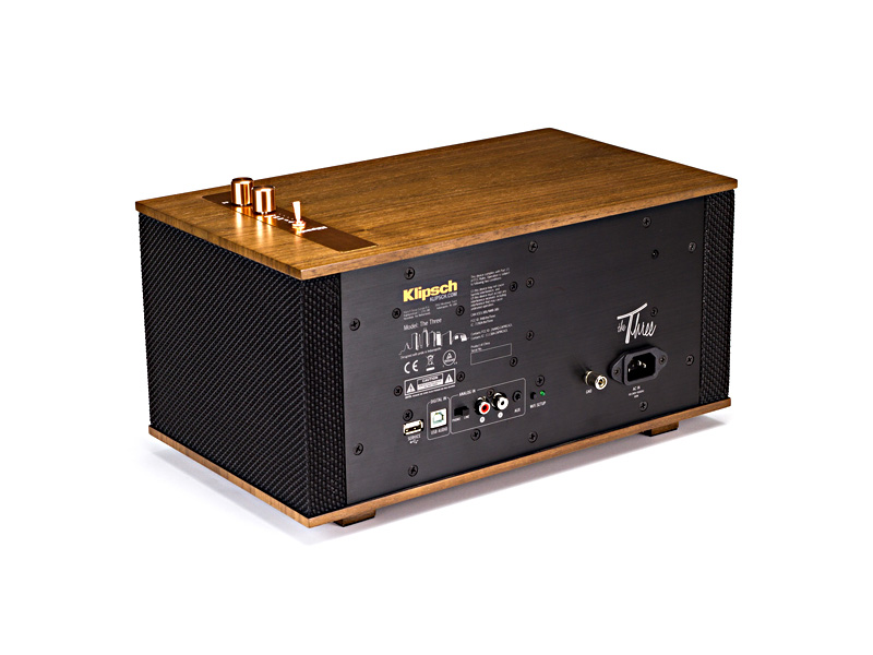 Klipsch The Three BT Speaker Walnut