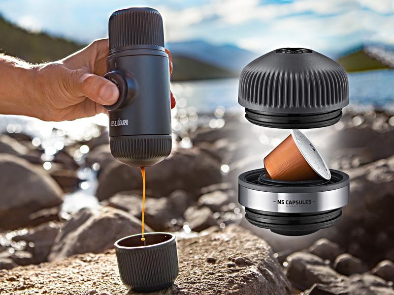 Wacaco Nanopresso Bærbar Espressomaskin