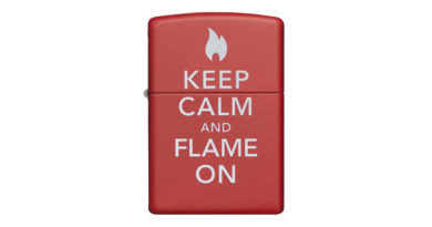 Zippo Lighter - Keep Calm and Flame On