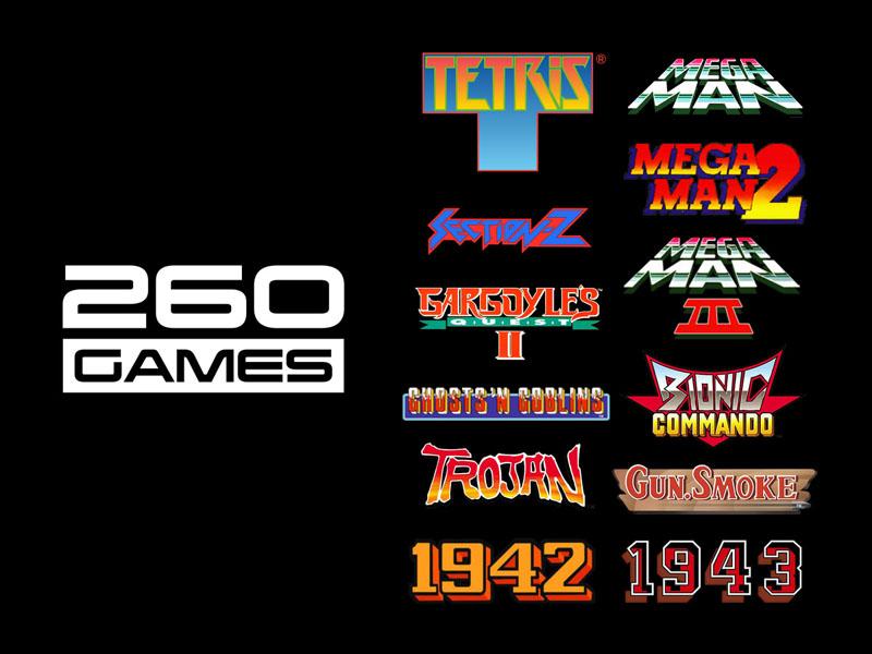 Retro-Bit Go Retro Portable spillkonsoll med Tetris og 260 spill fra 80- og 90-tallet